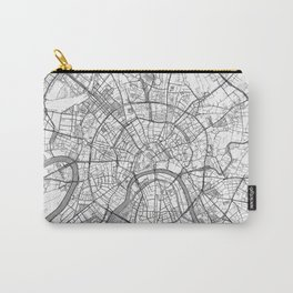 Moscow Map Line Carry-All Pouch