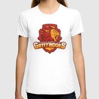 quidditch T-shirts featuring Hogwarts Quidditch Teams - Gryffindor by Deadround
