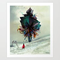 archan nair Art Prints featuring Soh:adoe by Archan Nair
