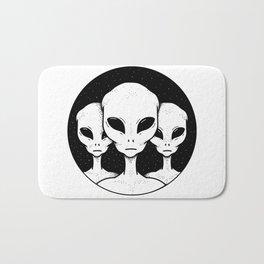 Area 51 Earthlings Welcome Bath Mat