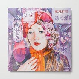 Tokyo Nights 02 of 16 Metal Print