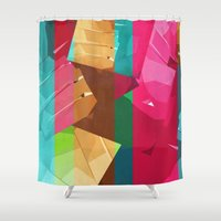 berlin Shower Curtains featuring Berlin by Fernando Vieira