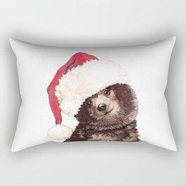 Christmas Baby Bear Rectangular Pillow