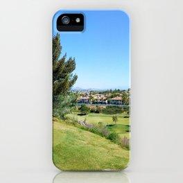 Redhawk Golf Club Panorama iPhone Case
