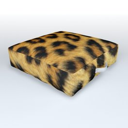 Leopard Print Outdoor Floor Cushion
