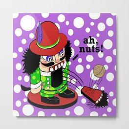 The Nutcracker (deef!) Metal Print