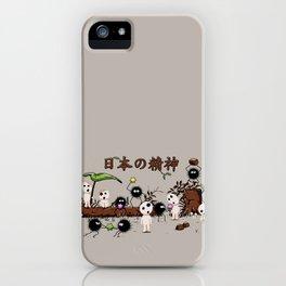 Kodamas & Susuwataris.2 iPhone Case