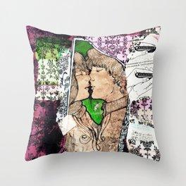 Kisses Throw Pillow