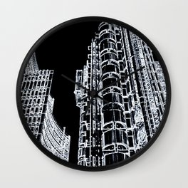 Willis Group and Lloyd's of London Wall Clock
