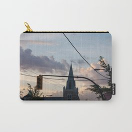 Sunset over Main Street Vancouver Carry-All Pouch