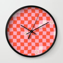 SmileyChecks Wall Clock