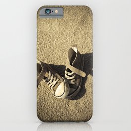 Lost shoes iPhone Case