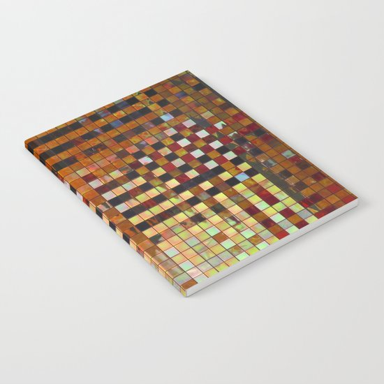 Checkered Reflections I Notebook