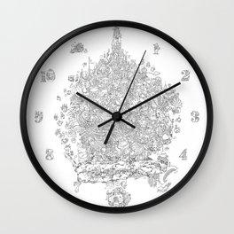 Breakfast Treehouse Wall Clock