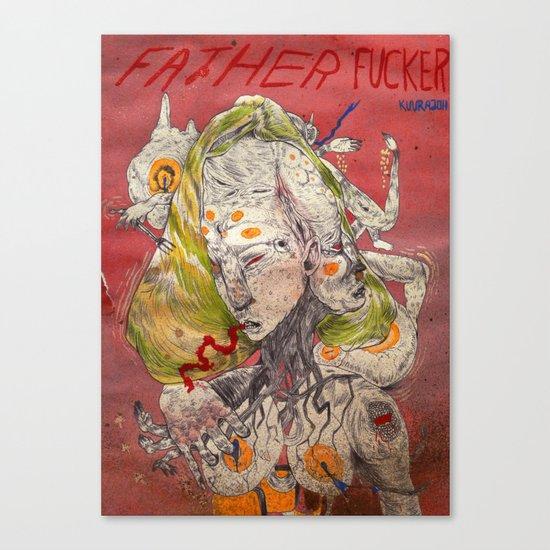 father fucker 2011 Canvas Print