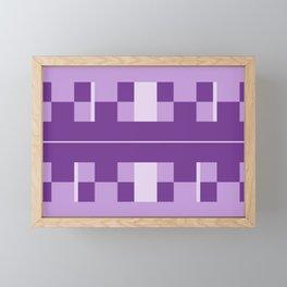 royal purple Framed Mini Art Print