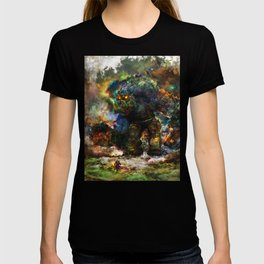 shadow of the witcher T-shirt