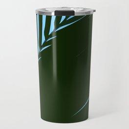 Palm Leaf Abstract Travel Mug