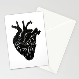 Black Heart II Stationery Cards