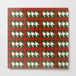 Where is the reindeer of Santa?_M R&Forestgreen Metal Print