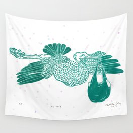 The Stork Wall Tapestry