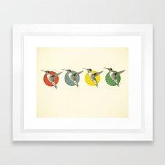 The Hummingbird Dance Framed Art Print