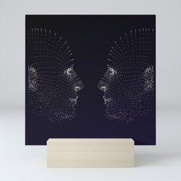 Faces Mini Art Print