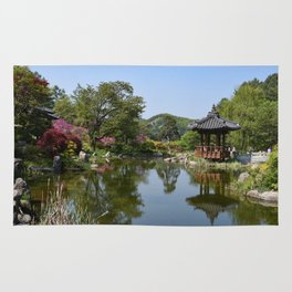 The Garden of the Morning Calm, Korea Rug