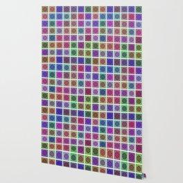 Tessellating Flora Wallpaper