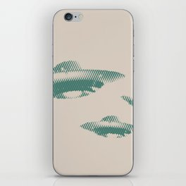 Disco Volante iPhone Skin