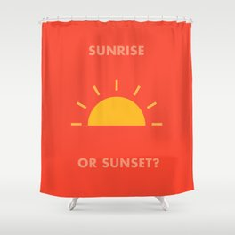 Sunrise / Sunset Shower Curtain