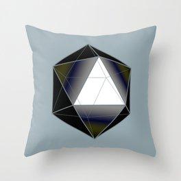 Icosahedron Throw Pillow