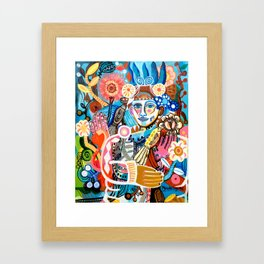 High Spirited Framed Art Print
