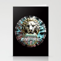 lions Stationery Cards featuring LIONS by infloence