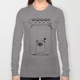 Kissing The Jar Long Sleeve T-shirt
