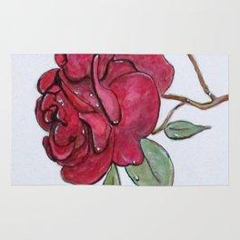 Wet Rose Rug