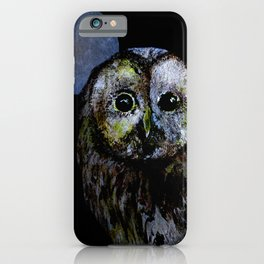 The Night Owl iPhone Case