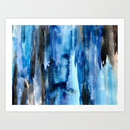 Deep Lapis Art Print