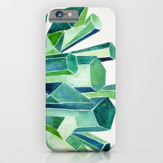 Emerald Watercolor iPhone 6 Slim Case
