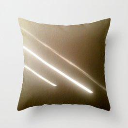 Tinted Purity Throw Pillow