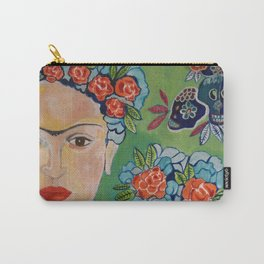 Mexican Frida Carry-All Pouch