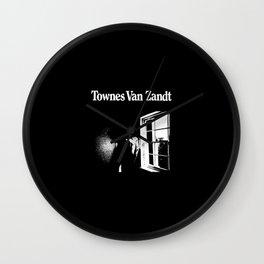 Townes Van Zandt Wall Clock