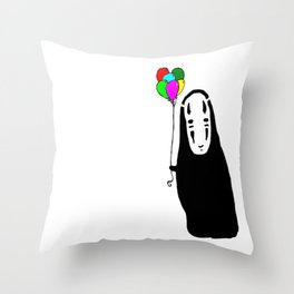 Happy Little One Throw Pillow