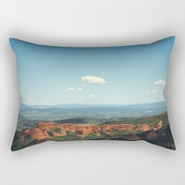 Red mountains Rectangular Pillow