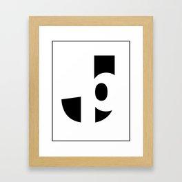 Jp Framed Art Print