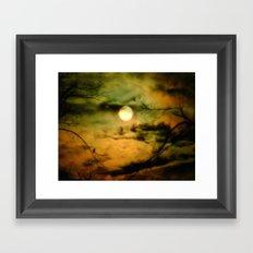 Moon Rising Framed Art Print