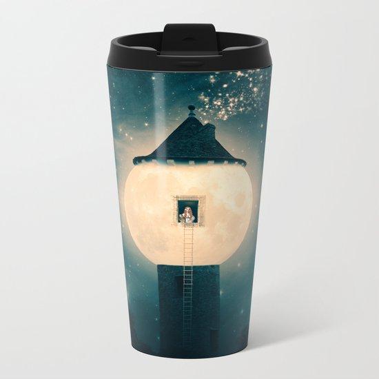 The Moon Tower Metal Travel Mug