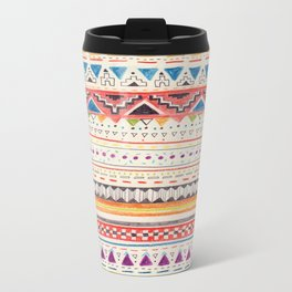 Pattern Metal Travel Mug
