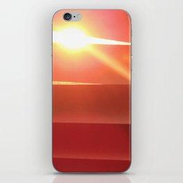Stalking the sunset iPhone Skin