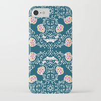 folk iPhone & iPod Cases featuring Folk by katharine stackhouse